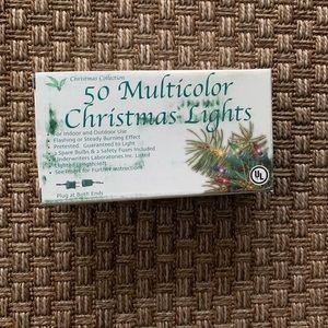 XMas Collection 50 Multicolor Indoor Outdoor Light